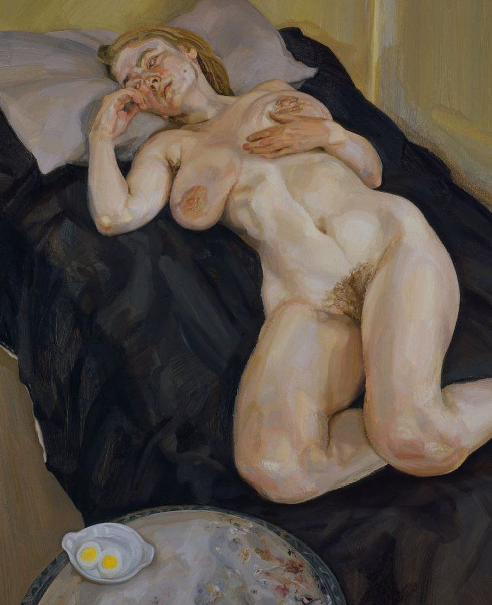 Lucian Freud: Naked Girl with Egg