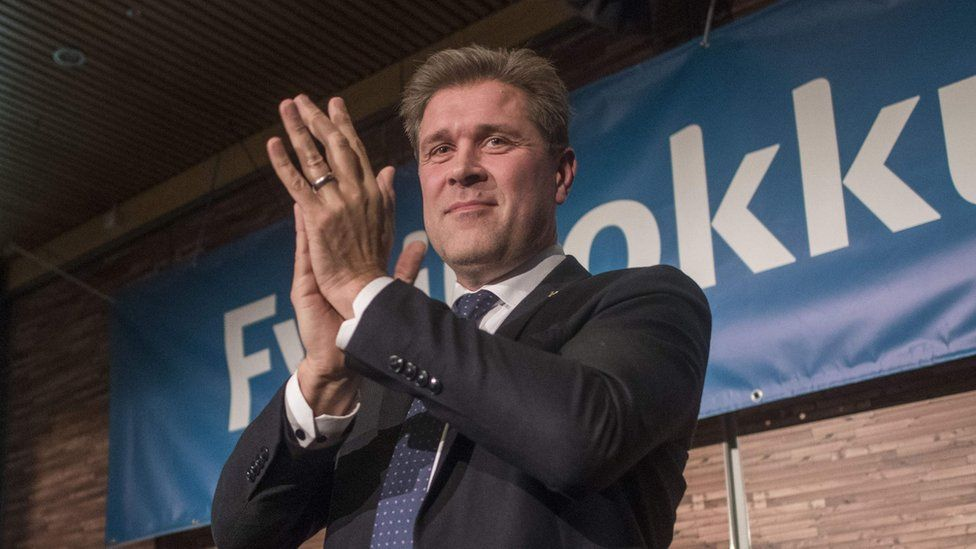 Mr Benediktsson of the Independence Party, Oct 28