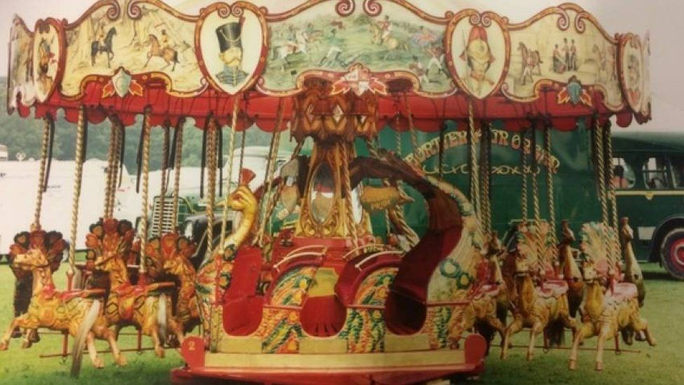 The ride at the Goose Fair
