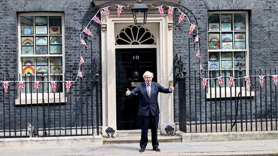 Boris Johnson on VE Day