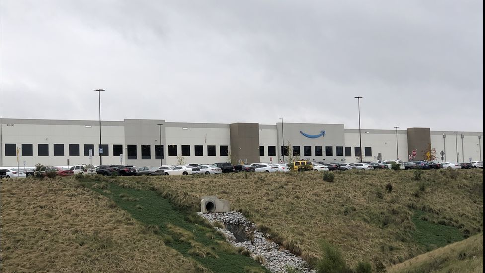 Amazon warehouse in Bessemer