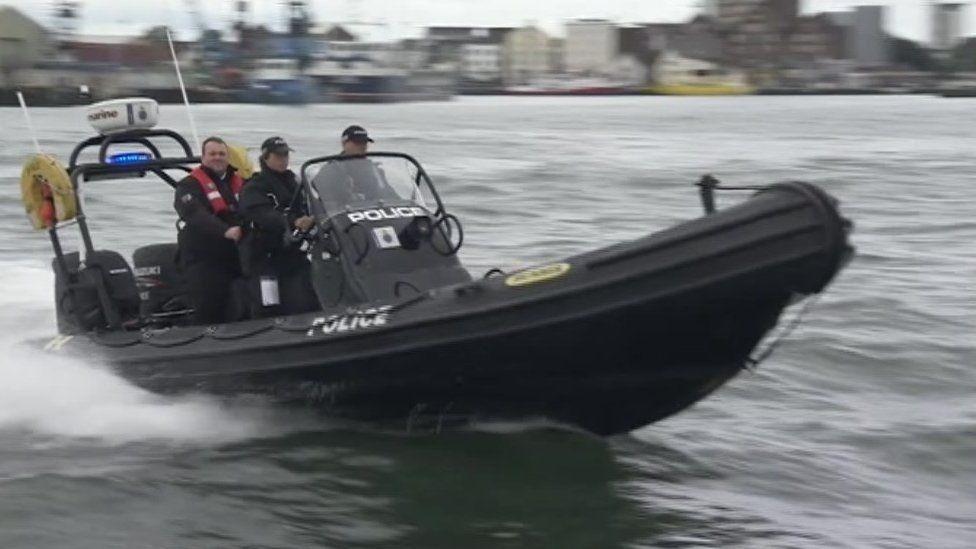 Dorset Police marine unit