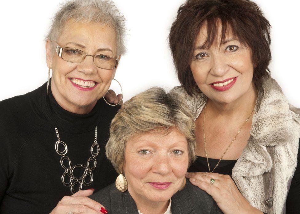 Mary, Sandra and Kelly