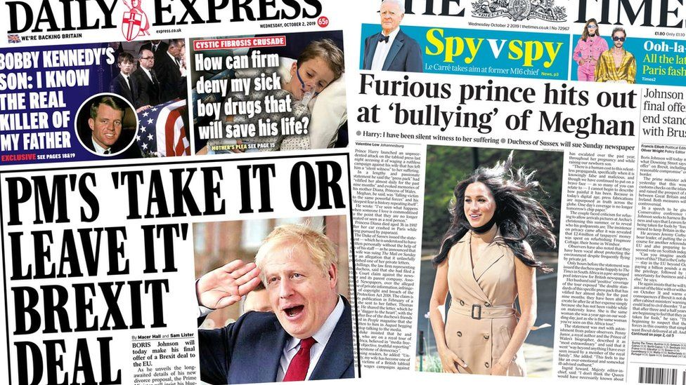 Index Wednesday -Express and the Times