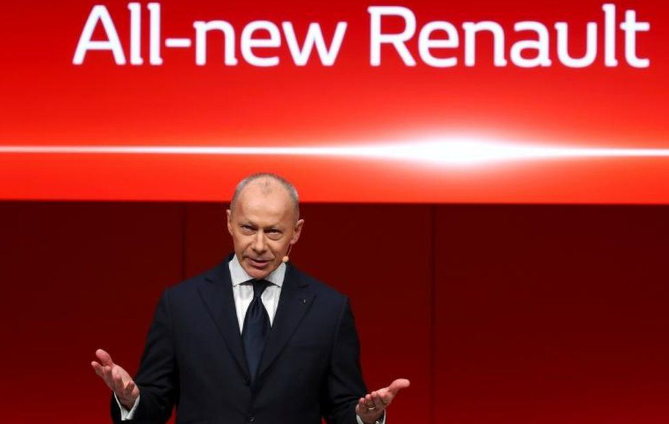 Renault ousts chief executive Thierry Bolloré in 'coup'