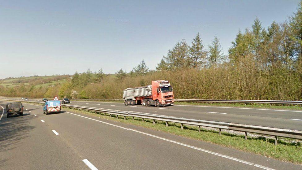 A48 rhwng yr M4 a Caerfyrddin