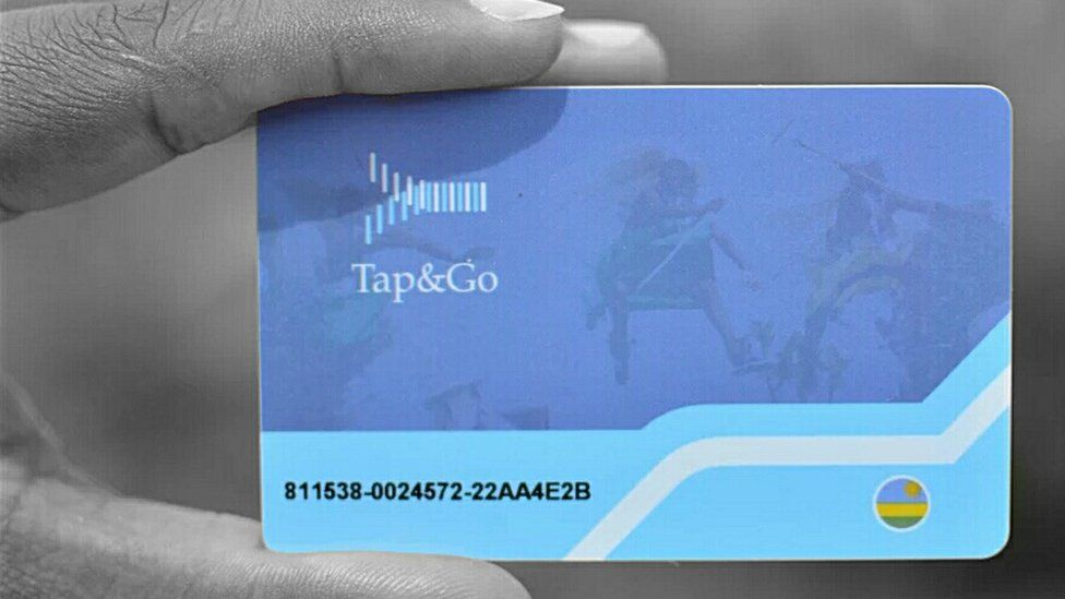 Tap and go card