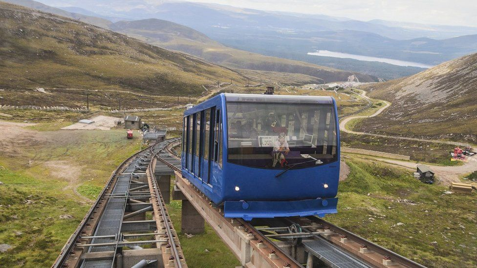 The funicular has been closed for two years