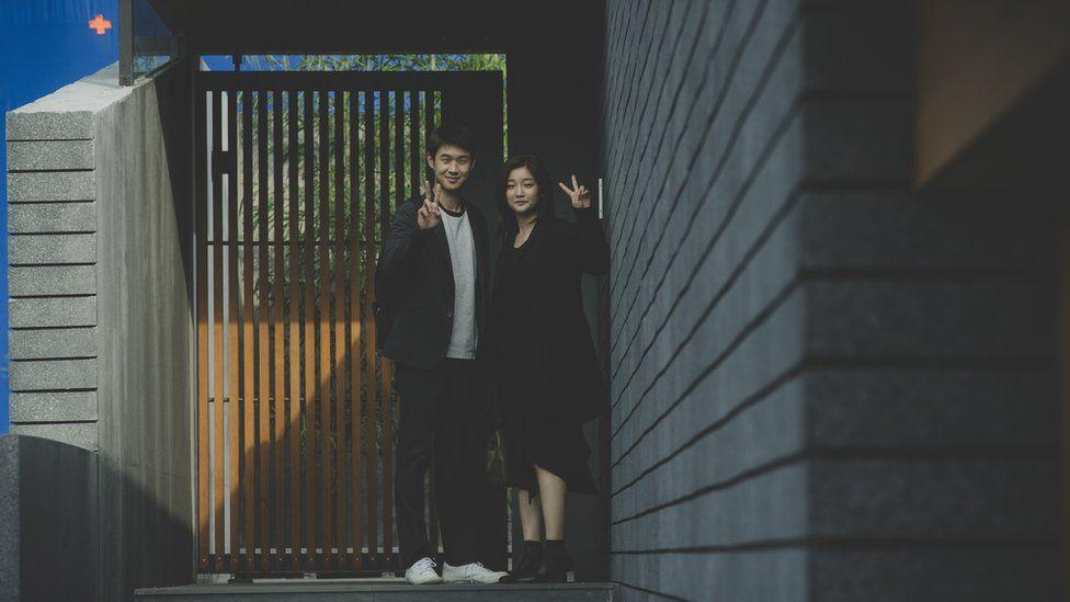 The South Korean film Parasite