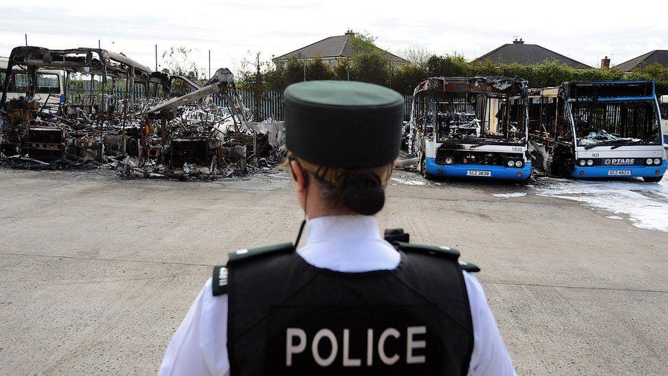 Ballymena bus depot attack