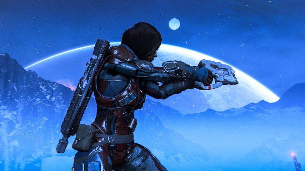 Screenshot from Mass Effect
