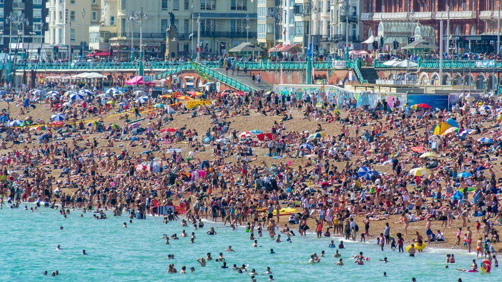 Brighton beach 2019