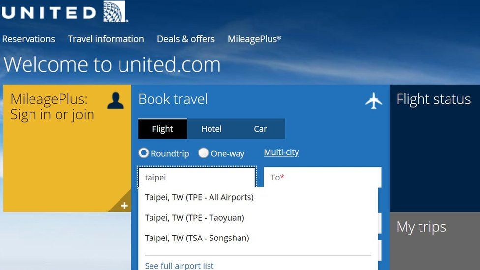 United screenshot