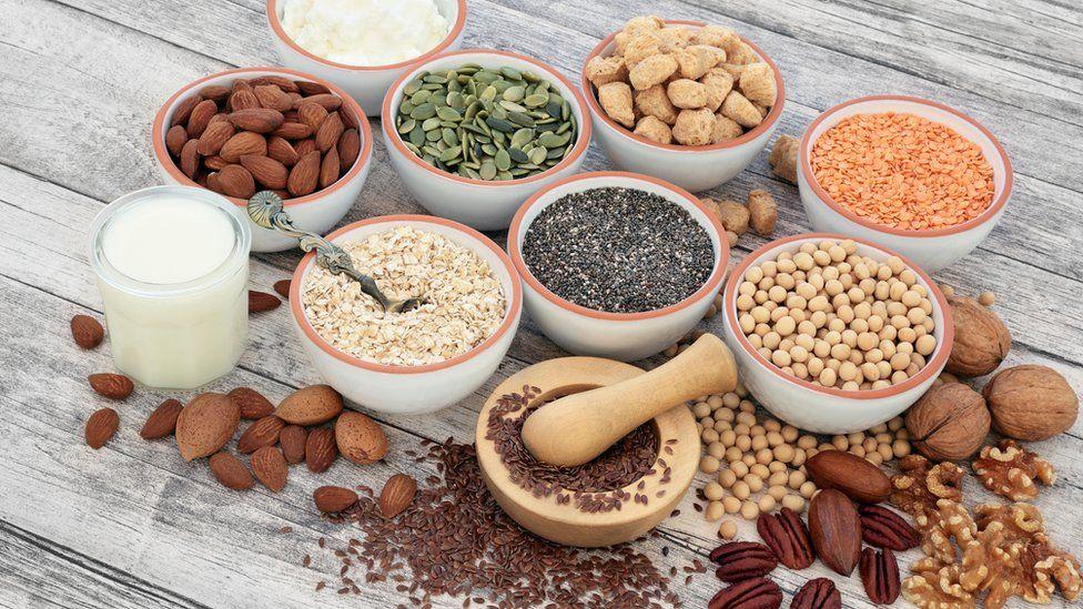 Sources of vegan protein