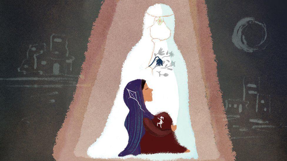 Illustration of Nazanin