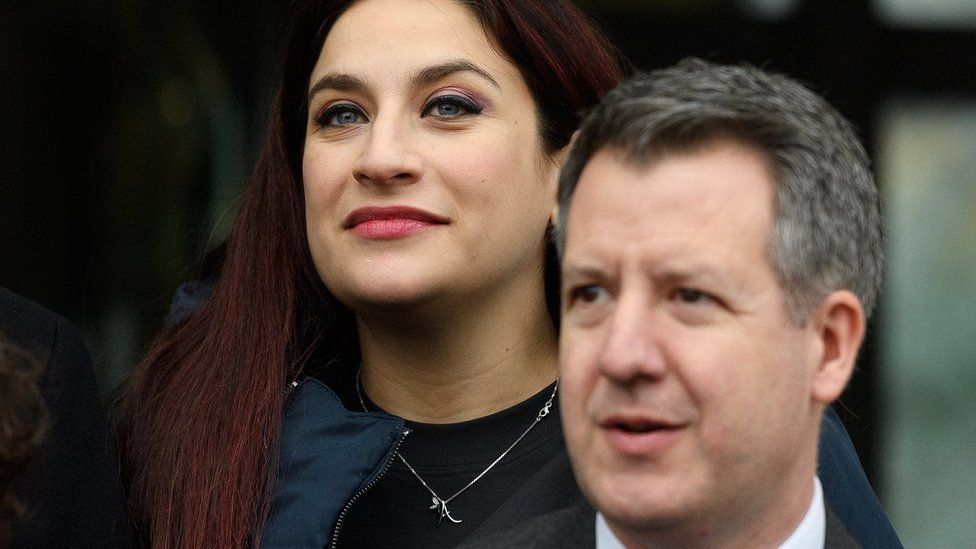 Luciana Berger and Chris Leslie