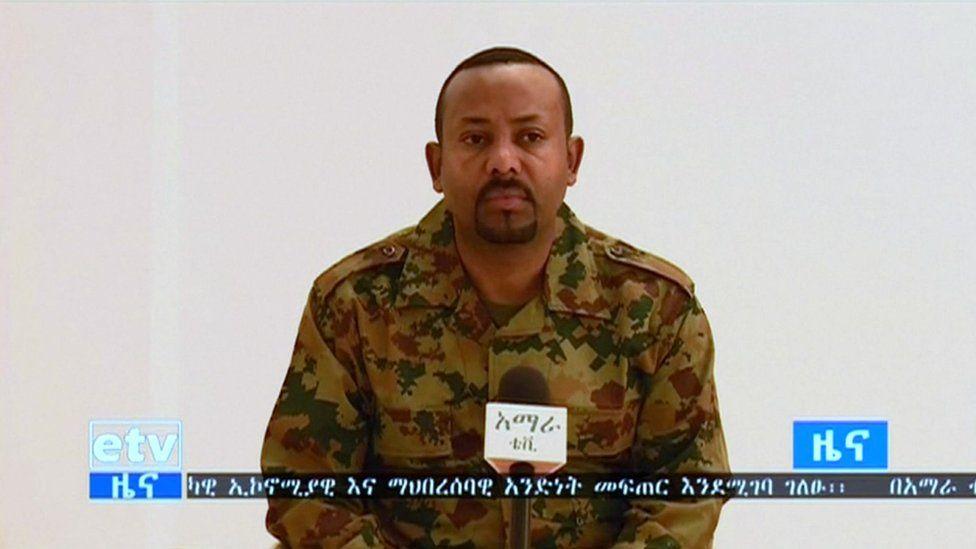 Ethiopia Amhara 'coup ringleader killed' - BBC News
