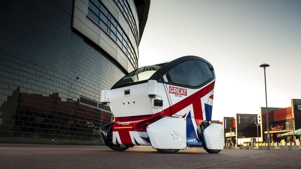 The autonomous pod produced by RDM