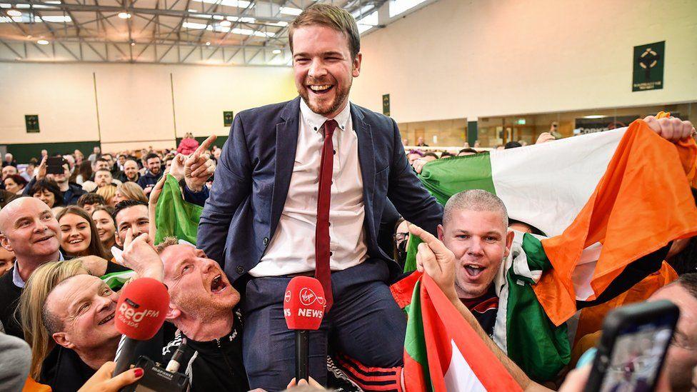 Sinn Fein's Donnchadh Ó Laoghaire