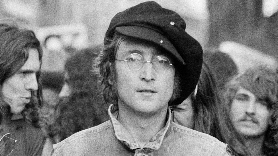 John Lennon: I was there the day he died - BBC News