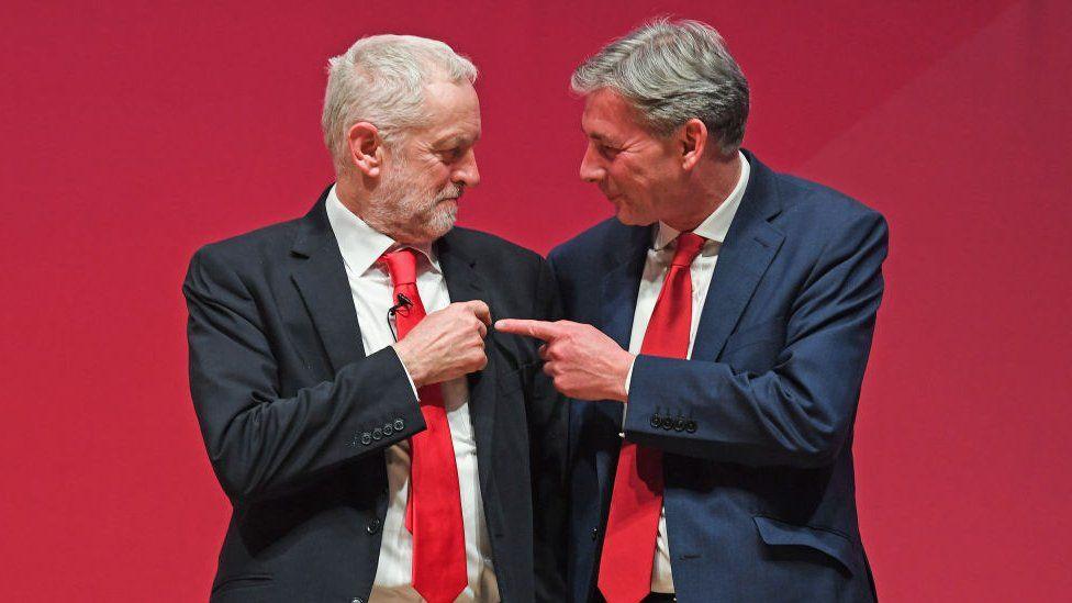 Jeremy Corbyn and Richard Leonard