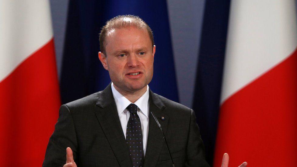"Malta""s Prime Minister Joseph Muscat"