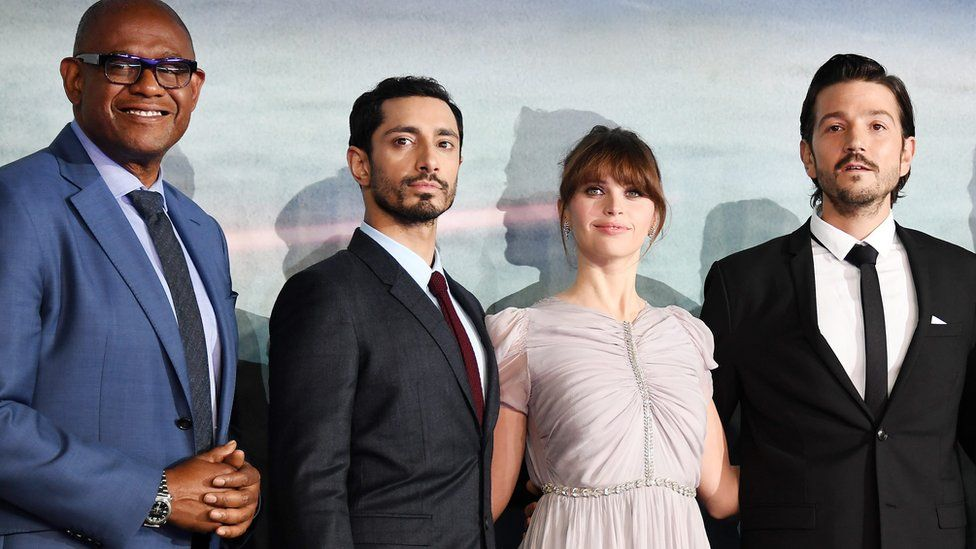 Forest Whitaker, Riz Ahmed, Felicity Jones and Diego Luna