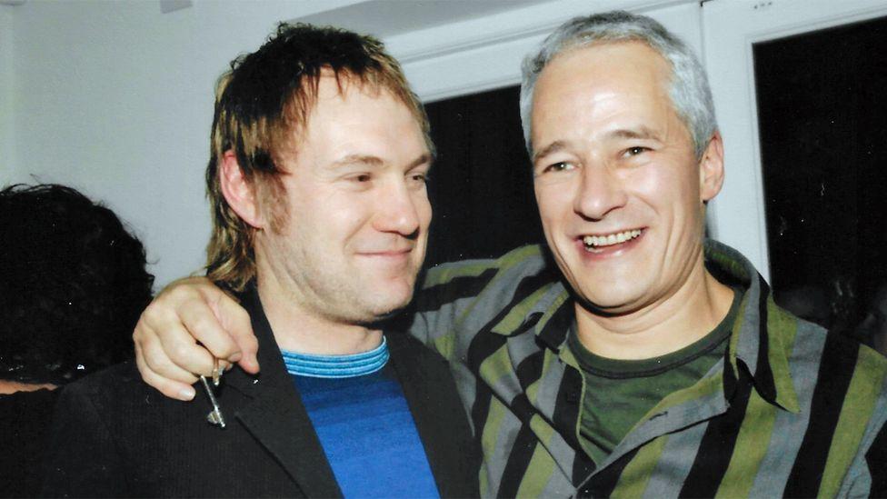 Jeremy with David Gray