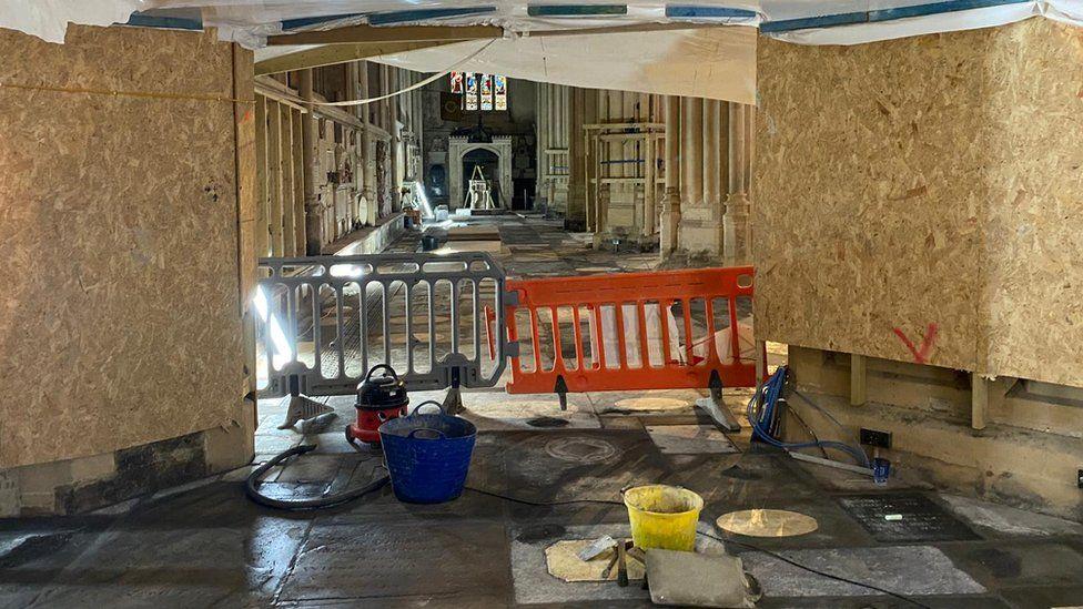 Bath Abbey restoration