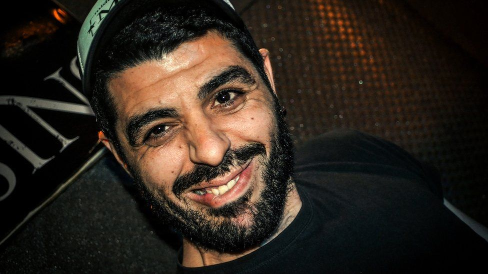 Photo dated on June 24, 2012 of Pavlos Fyssas. The 34-year-old was fatally stabbed in the working-class Athens district of Keratsini early on September 18, 2013