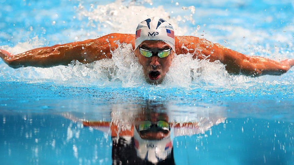 Phelps has won 28 Olympic medals