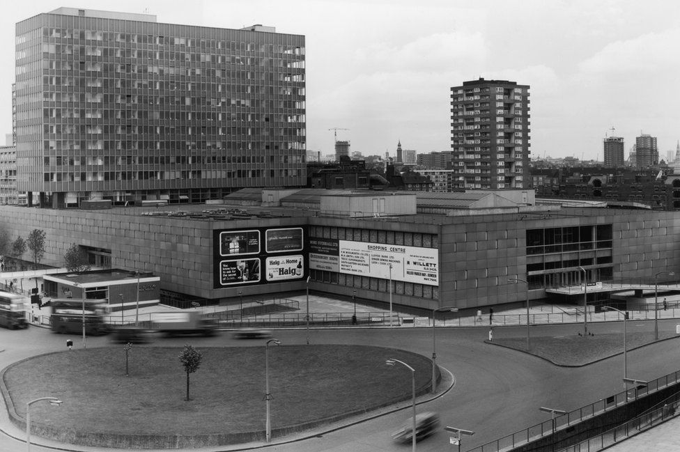 Elephant and Castle in the 1960s