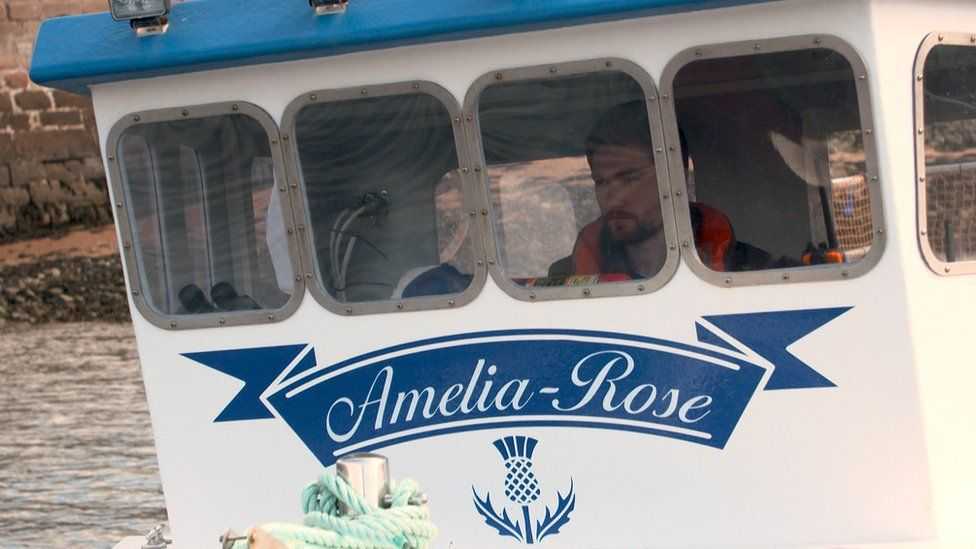 Rhys, who skippers the boat Amelia-Rose, now sells locally