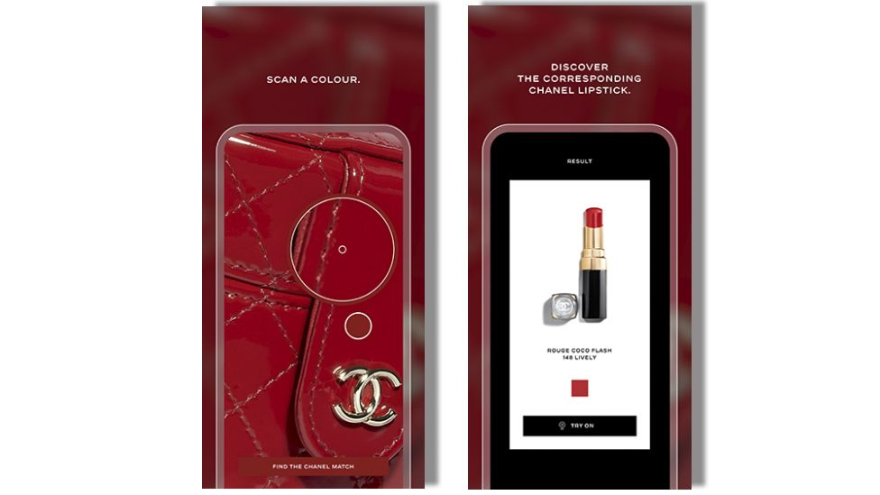 Aplicación Lipscanner de Chanel