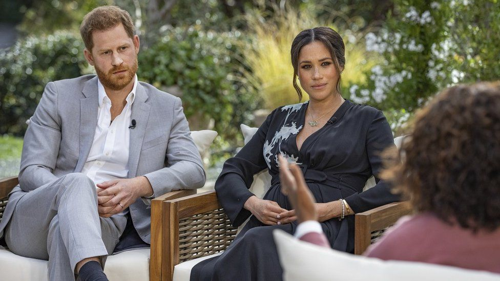Meghan and Harry's TV interview with Oprah Winfrey to air in US - BBC News