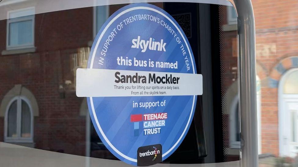 Sandra Mockler sticker