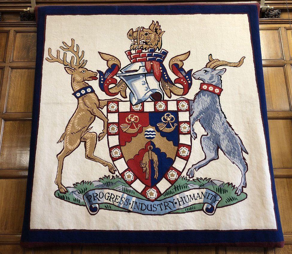 Bradford's crest