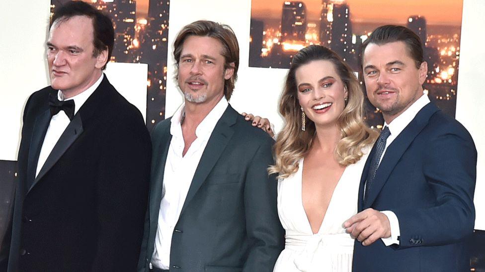 Tarantino, Pitt, Robbie and DiCaprio