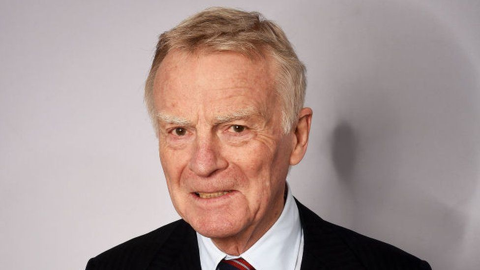 Max Mosley in 2017