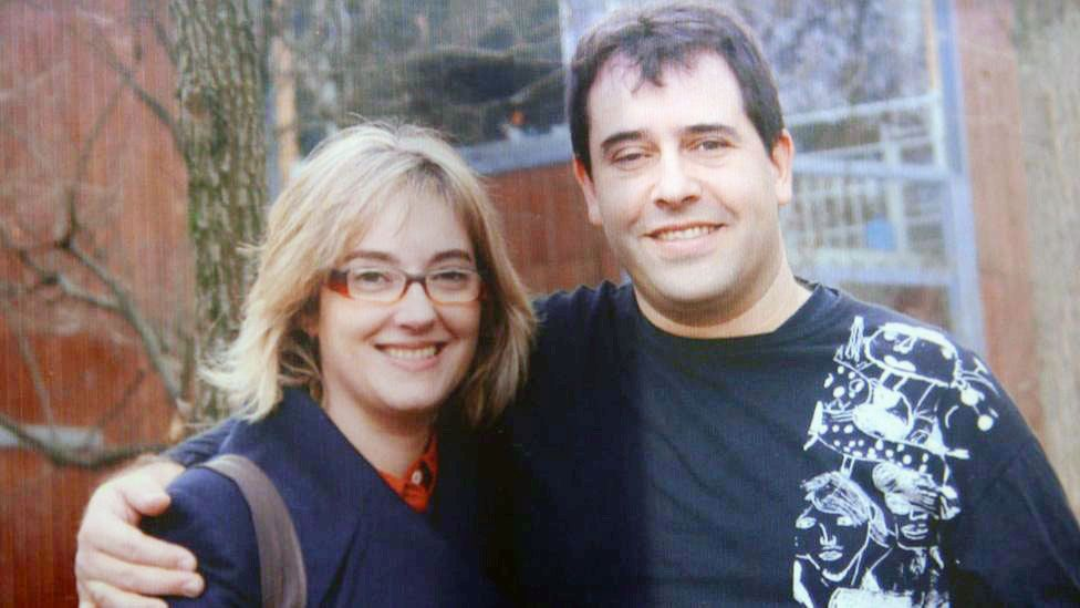 Gemma Catalá and her late husband, Jordi