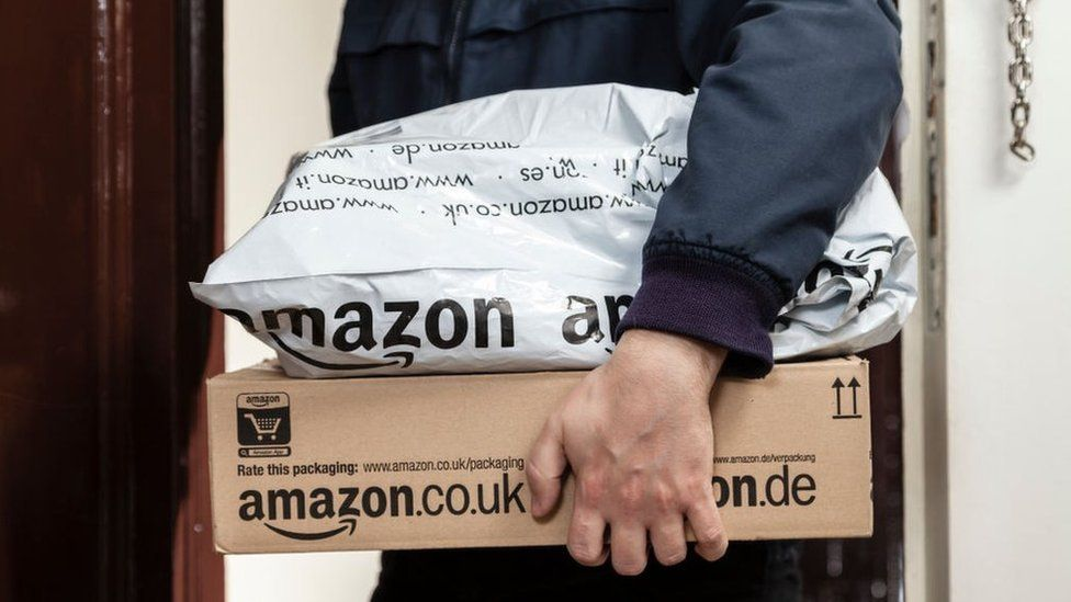 Amazon UK website defaced with racist abuse