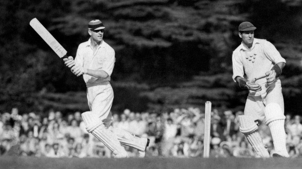 The Duke of Edinburgh batting during the 12 a side cricket match between the Duke of Edinburgh and the Duke of Norfolk