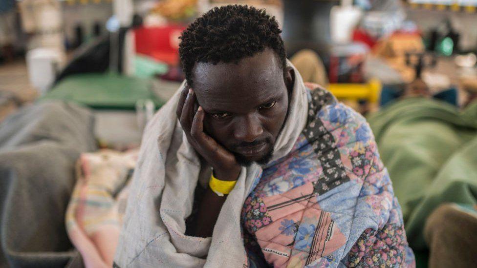 African migrant