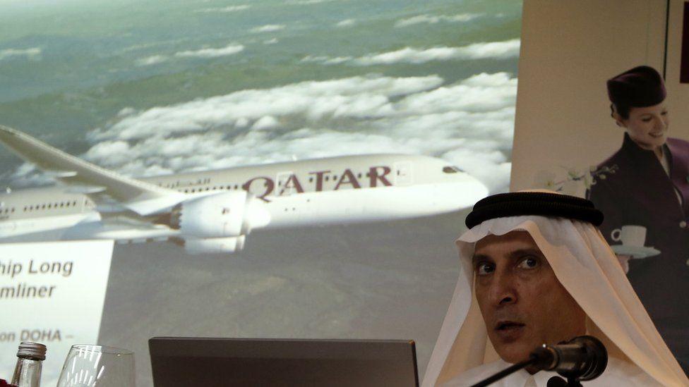 Qatar Airway's Chief Executive Akbar al-Baker