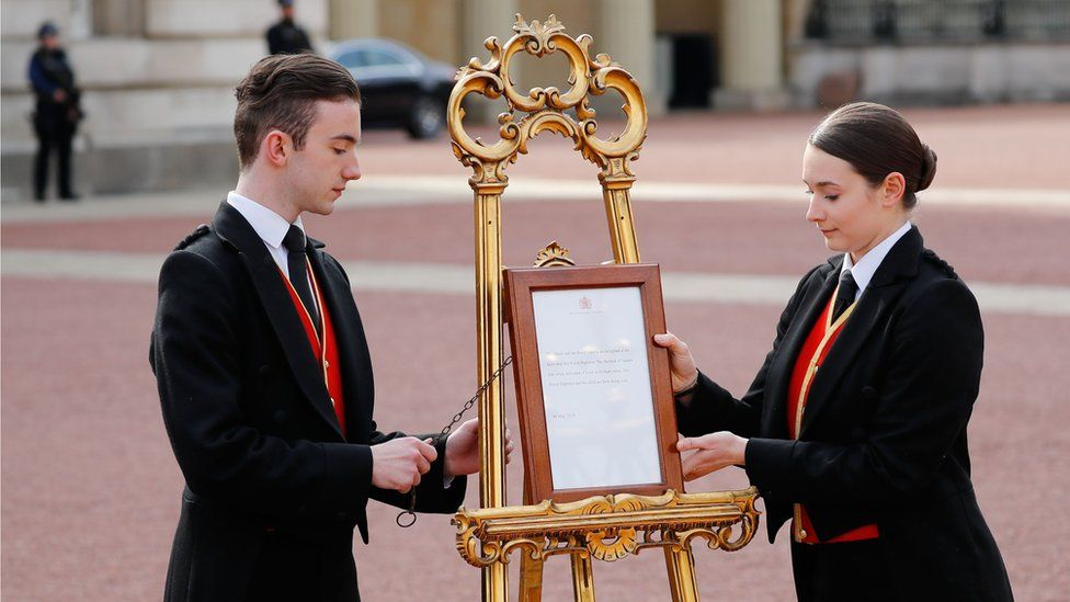 Ceremonial easel