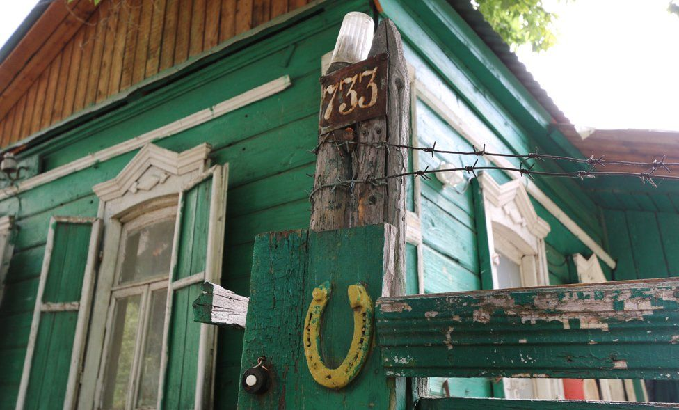 Дом в Глебучевом овраге