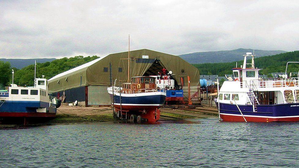 Corpach Boatbuilding Company