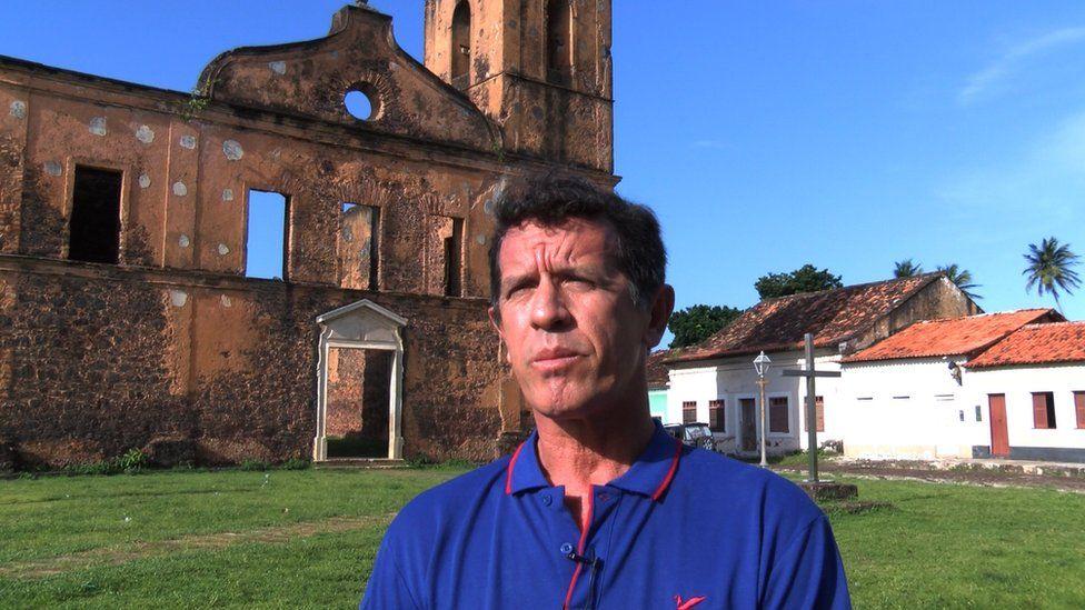 Alcantara's mayor Domingos Araken