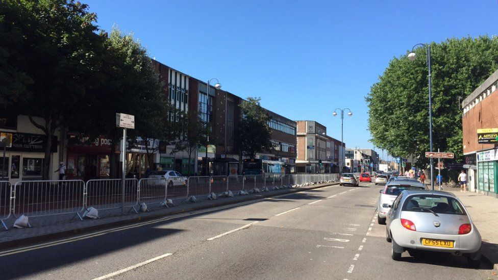 Kingsway has many empty shops and business have blamed changes to the road