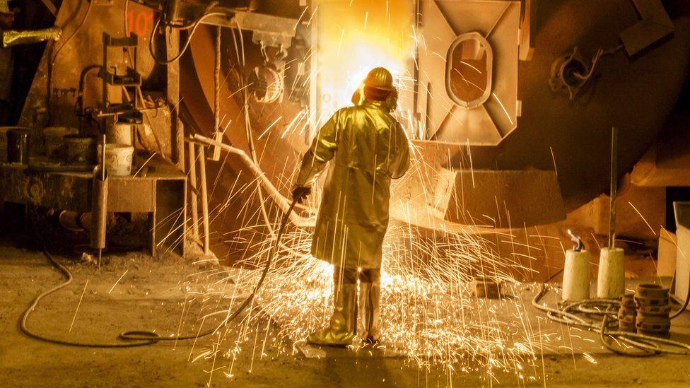 Salzgitter AG steelworks, Germany